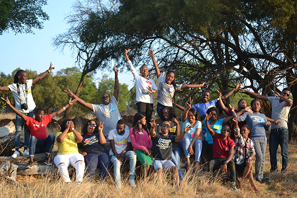 Young people from Southern Africa come together at co-creation workshop to develop Avert's Young Voices materials