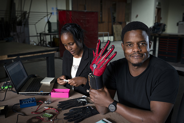 A winner of the Africa prize for innovation