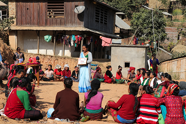Community Education, Maidi Village, Dhading, Nepal