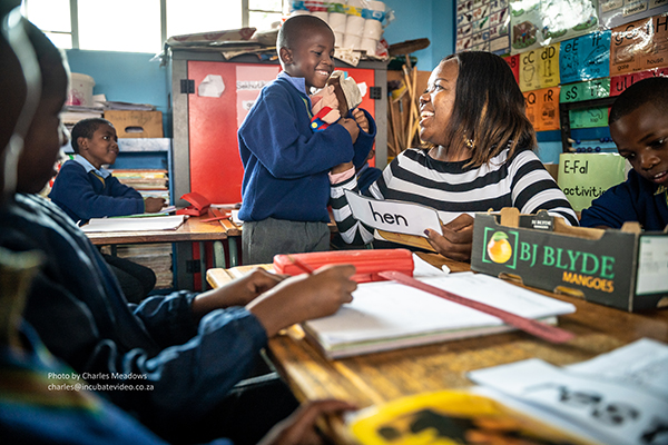 Next generation in action delivering inclusive education at Bachana Mokwena Primary School, South Africa