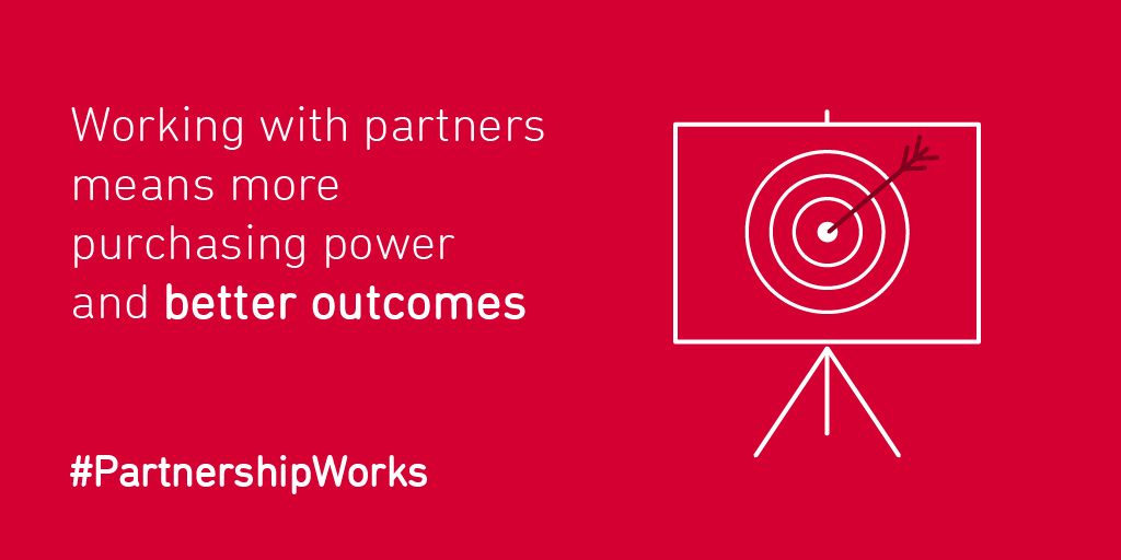 #PartnershipWorks - better outcomes