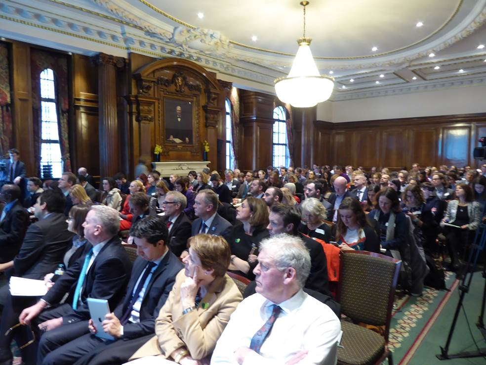Audience at SDGs event Feb 2017
