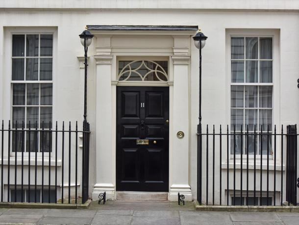 11 Downing Street, residence of the Chancellor