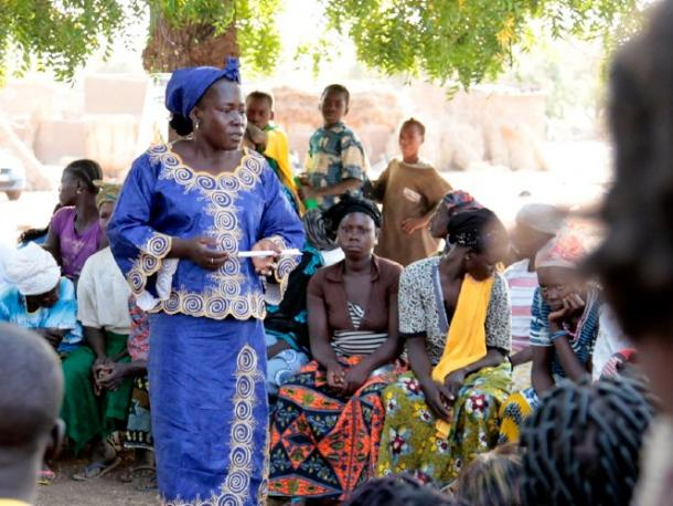 """Speaking out: Peer educators advocate for an end to FGM/C"" by DFID - UK Department for International Development is licensed under CC BY 2.0"