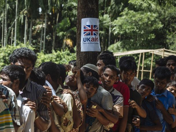 UK aid for people fleeing violence in Myanmar