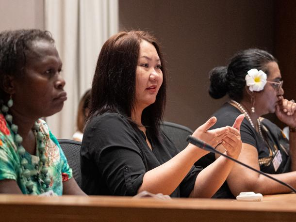 """Hope"" a CSO special plenary session hosted by UN Women"