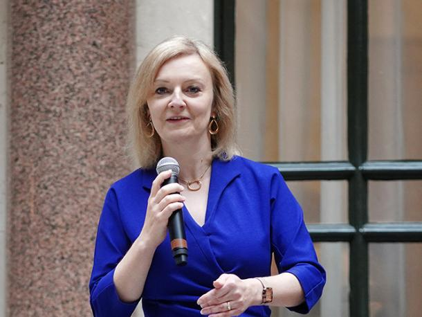 Liz Truss holds a Trade Envoy in the Foreign & Commonwealth Office.