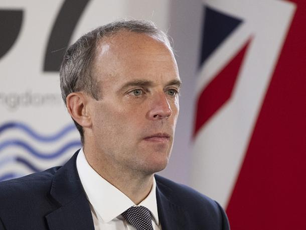 Dominic Raab calls G7 Foreign Ministers to discuss Afghanistan at the Foreign Commonwealth and Development Office in London