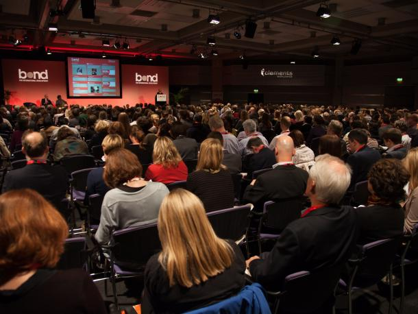 Delegates at the Bond Annual Conference 2014 opening keynote