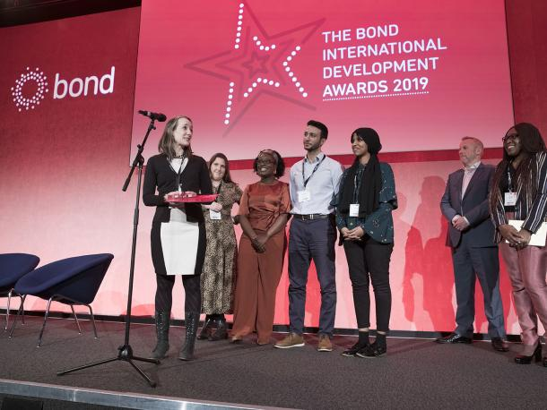 Oxfam GB won the Diversity Award at the Bond Awards 2019