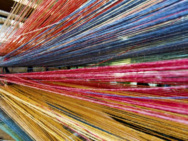 Colourful loom