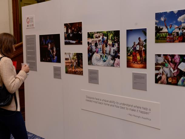 Exhibition focusing on diaspora