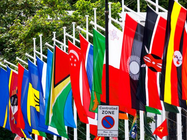 Commonwealth flags