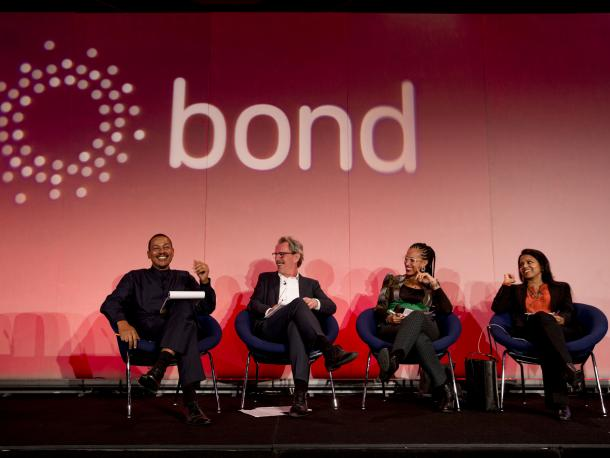 Panel discussion at Bond Conference