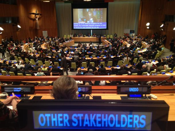 Meeting at the High Level Public Forum