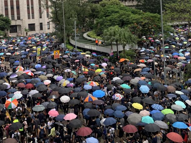Umbrella protests in Hong Kong