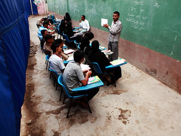 Street schools in Pakistan