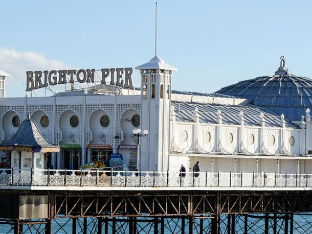 Brighton Pier, nearby to where the Labour Party Conference takes place this year