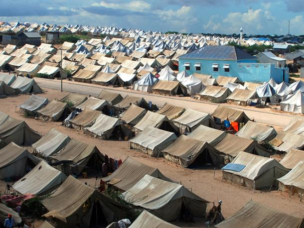 Refugee Camp İn Somalia