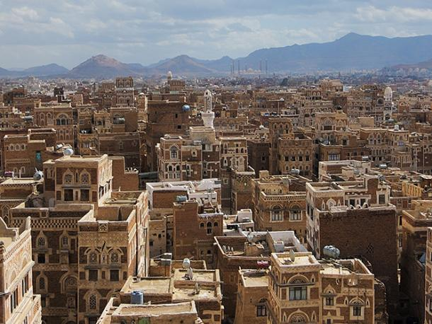 Sana'a, the capital city of Yemen