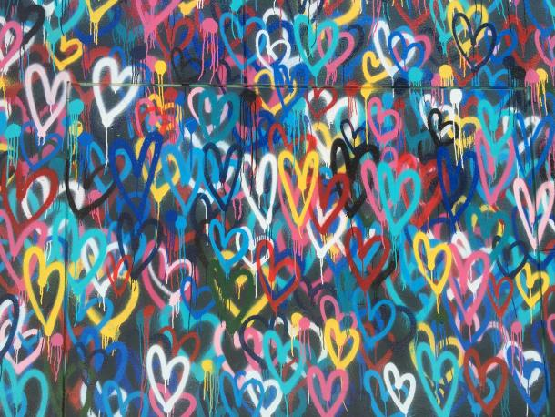 Love wall in Manhattan