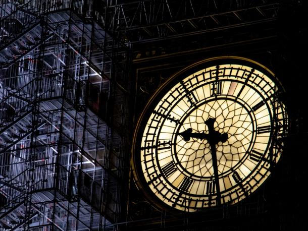 Big Ben under renovation