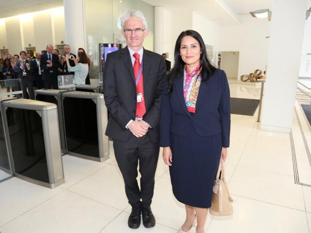 DFID welcomes Priti Patel