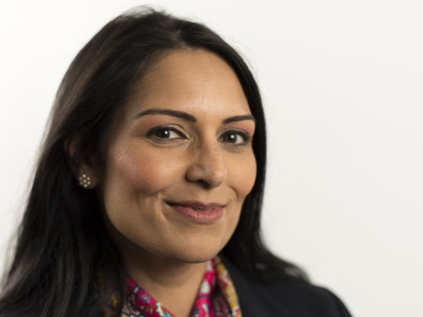 Rt Hon Priti Patel, Secretary of State for International Development