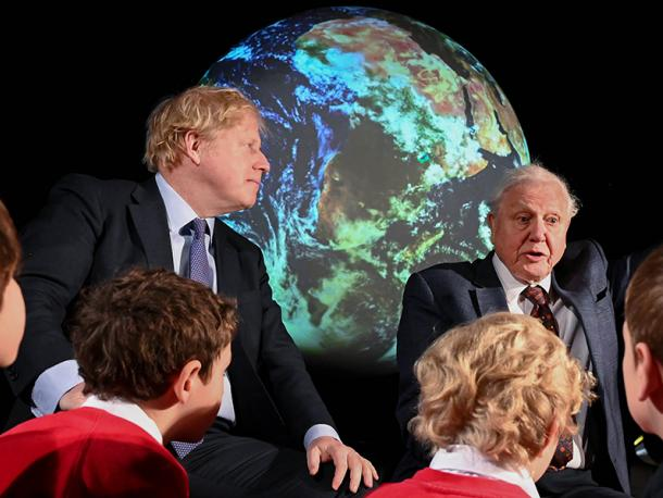 Boris Johnson launch of COP26