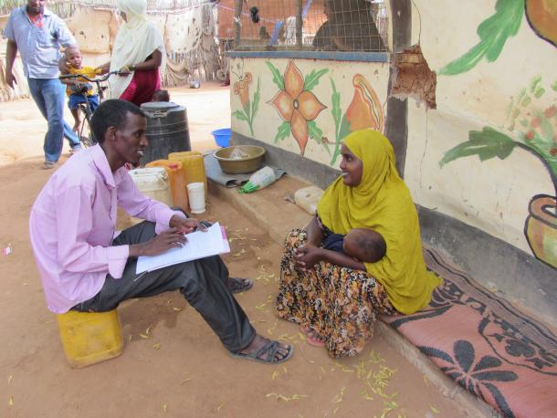 Survey in Dadaab camp, Kenya