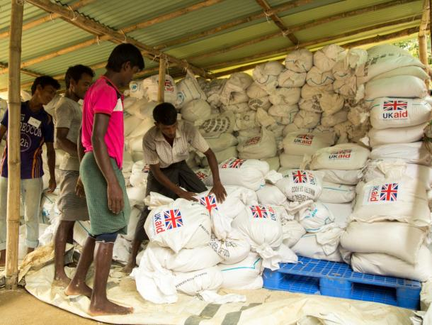 UK Aid delivered in Bangladesh
