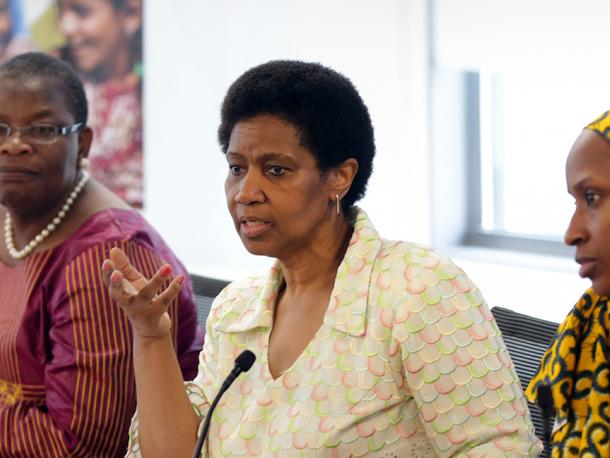UN Women Hosts Brown-Bag Lunch with #BringBackOurGirls Campaign Coordinators