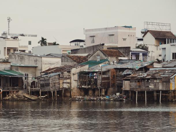 Waterfront houses in Nha Trang