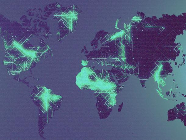 World map networks