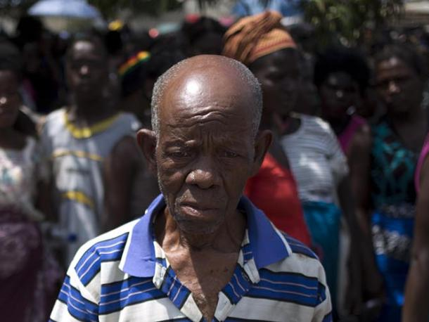 Elderly people in Mozambique