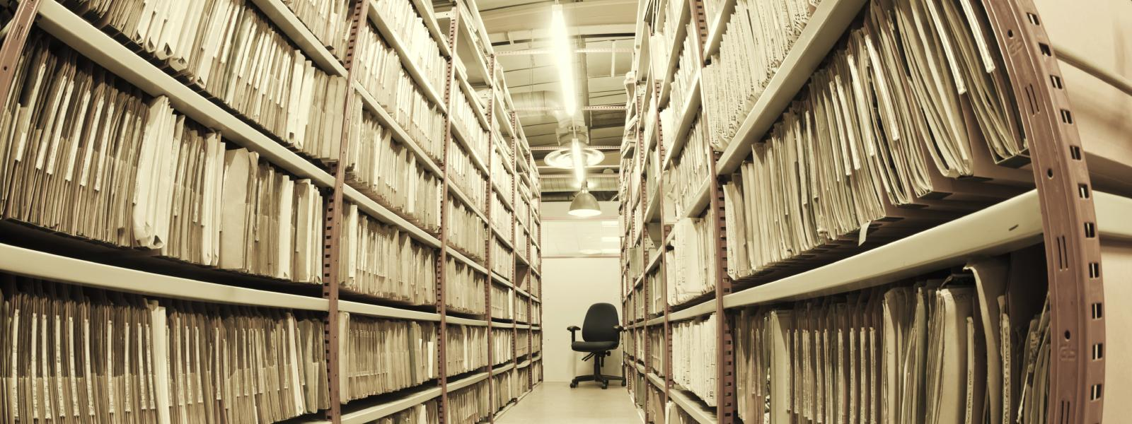 Files in an archive