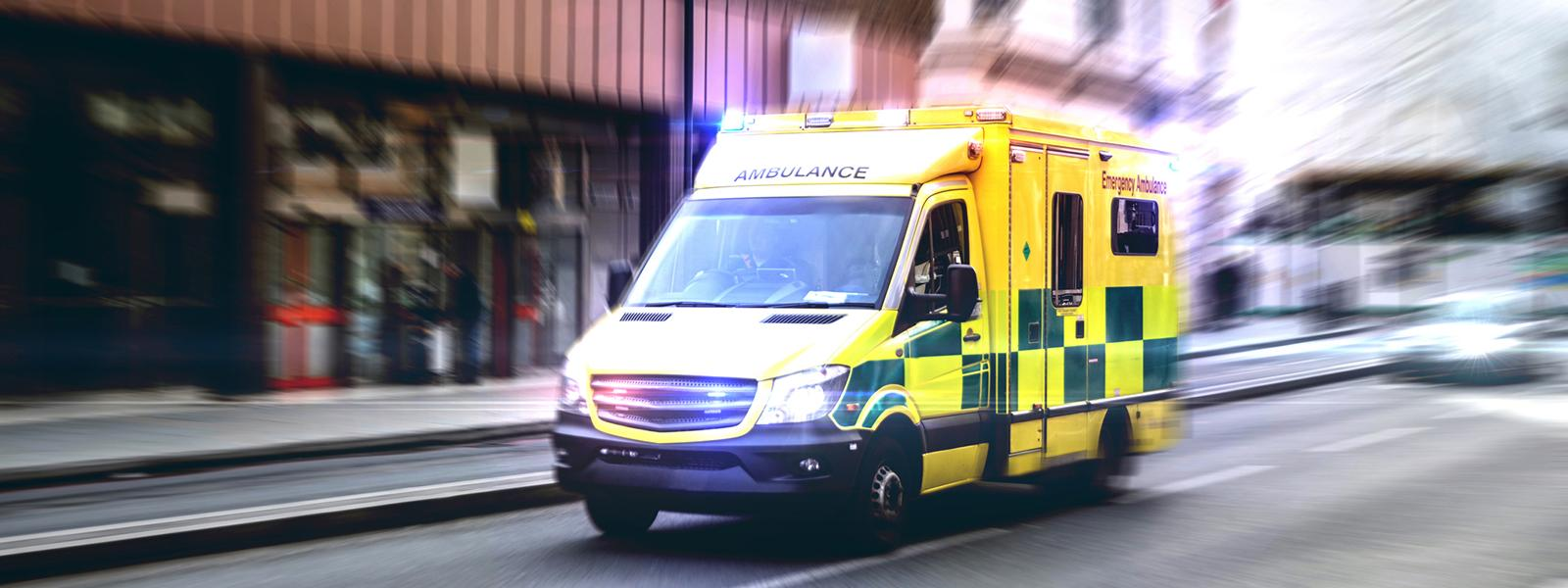 Ambulance on the streets of London
