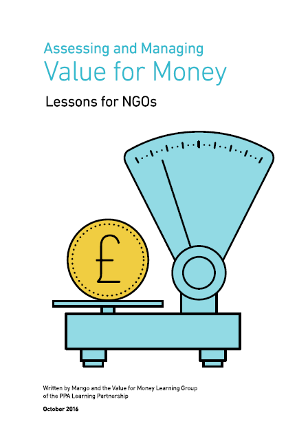 Assessing and managing value for money report cover