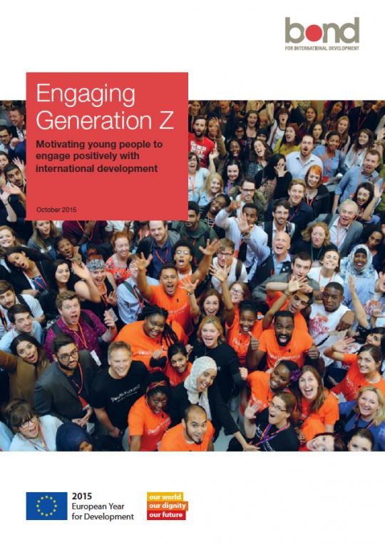 Cover image of Engaging Generation Z report