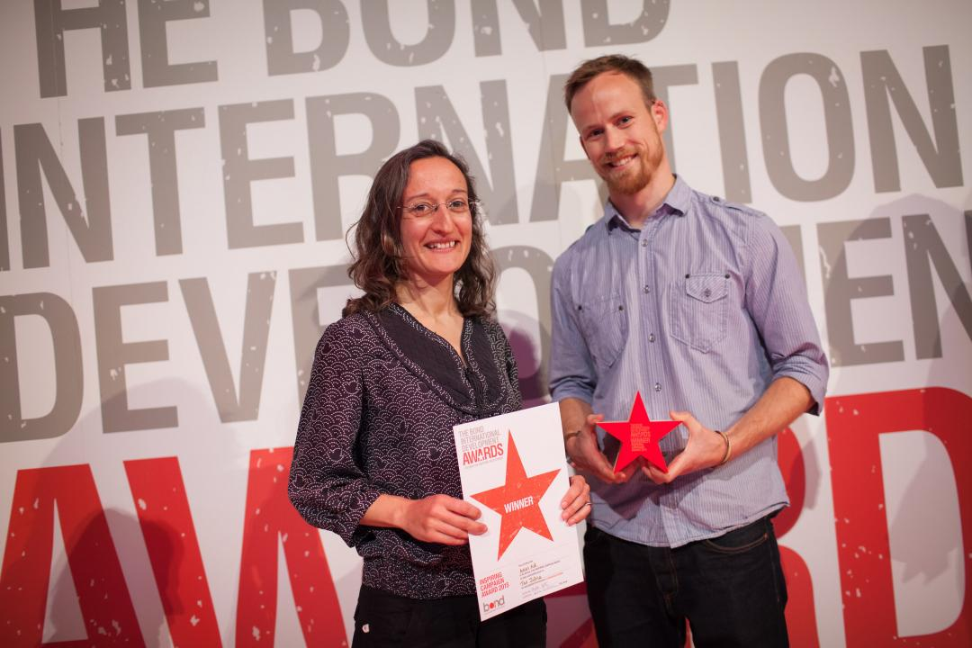 Bond Inspiring Campaign Award 2015 winners ActionAid