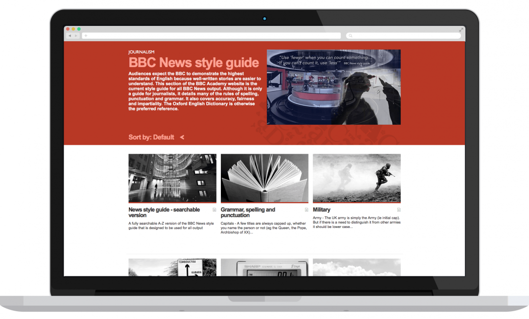 BBC style guide