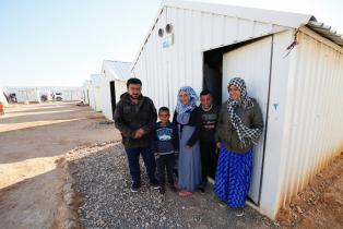 Azraq refugee camp